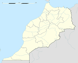 Morocco map SVG