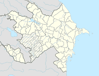 Azerbaijan map SVG