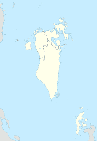 Bahrain map SVG