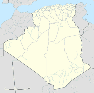 Algeria map SVG