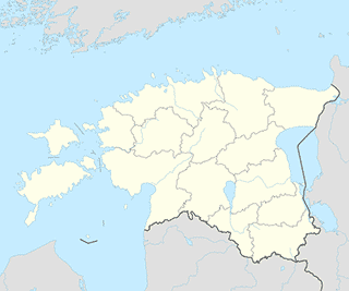 Estonia map SVG